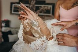 novia vestido barcelona