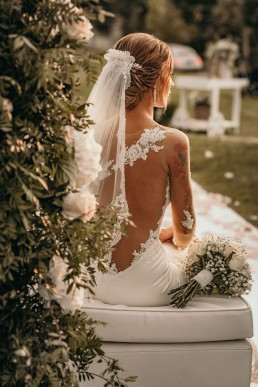 de vestido novia
